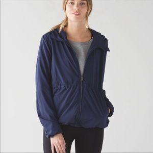 Lululemon Lightweight Belle Indigo Blue Jacket